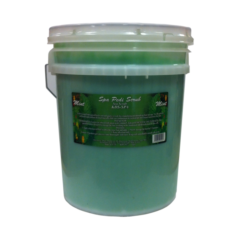 Kds Spa Pedi Scrub Mint In Big Size 22kg