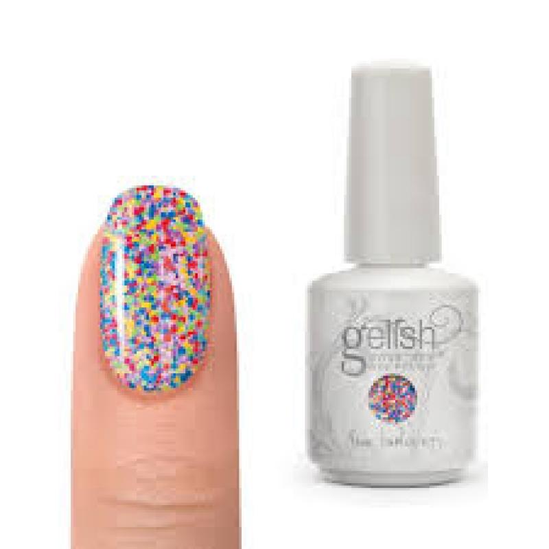 Gelish Soak Off Gel Polish - Lots of Dots