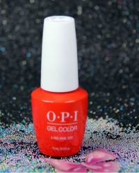 OPI Gel - A Red-Vival City L22