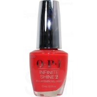 OPI Infinite Shine - A Red-Vival City...