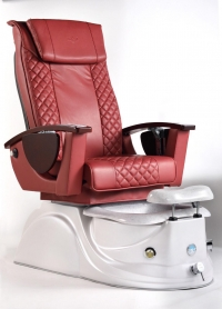 L.N Spa Pedicure Chair Burgundy