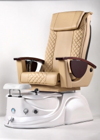L.N Spa Pedicure Chair Creamy Nude