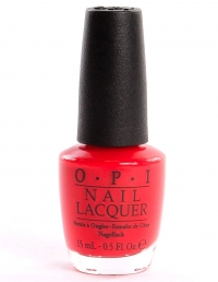 OPI Red My Fortune Cookie H42