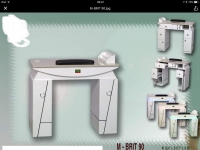 LNS Brit Manicure Nail Table Single...