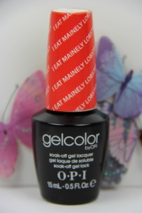 OPI GEL - I Eat Mainely Lobster