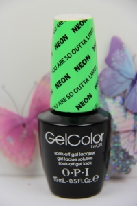 OPI GEL - You Are So Outta Lime