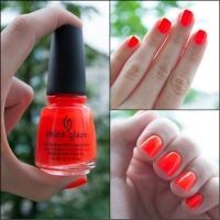 CHINA GLAZE - ORANGE KNOCKOUT