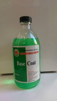 L.N Base Coat Green 16oz Non Yellow
