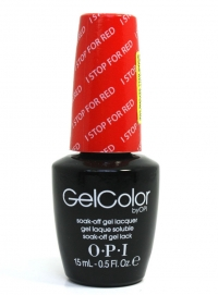 OPI Gel - I STOP for Red A74 (...