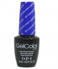OPI Gel - My Car Has Navy-Gation A76...