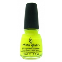 China Glaze - Yellow Polka Dot Bikini...