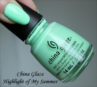China Glaze - Highlight Of My Summer...