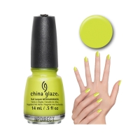 China Glaze - Trip Of A Lime Time 1376