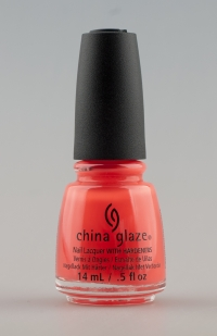 China Glaze - Red - Y To Rave 1397
