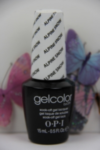 OPI GEL - Alpine Snow 0.5 oz
