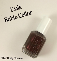 Essie - Sable Collar 852