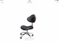 L.N Technician Chair Black