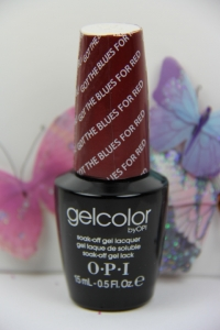 OPI GEL - Got The Blues For Red