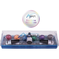 Aora Rainbow Hologram kit of 6