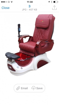 L.N Pedicure Chair Model 2