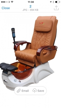 L.N Pedicure Chair Model 3