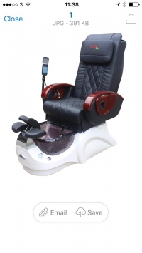 L.N Pedicure Chair Model 4