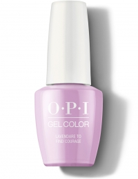 OPI Gel - Lavendare to Find Courage...