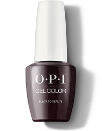 OPI Gel - Black to Reality K12