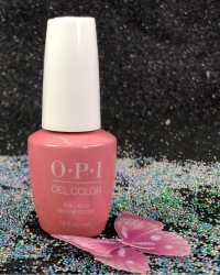 OPI Gel - Pink Ladies Rule the School...